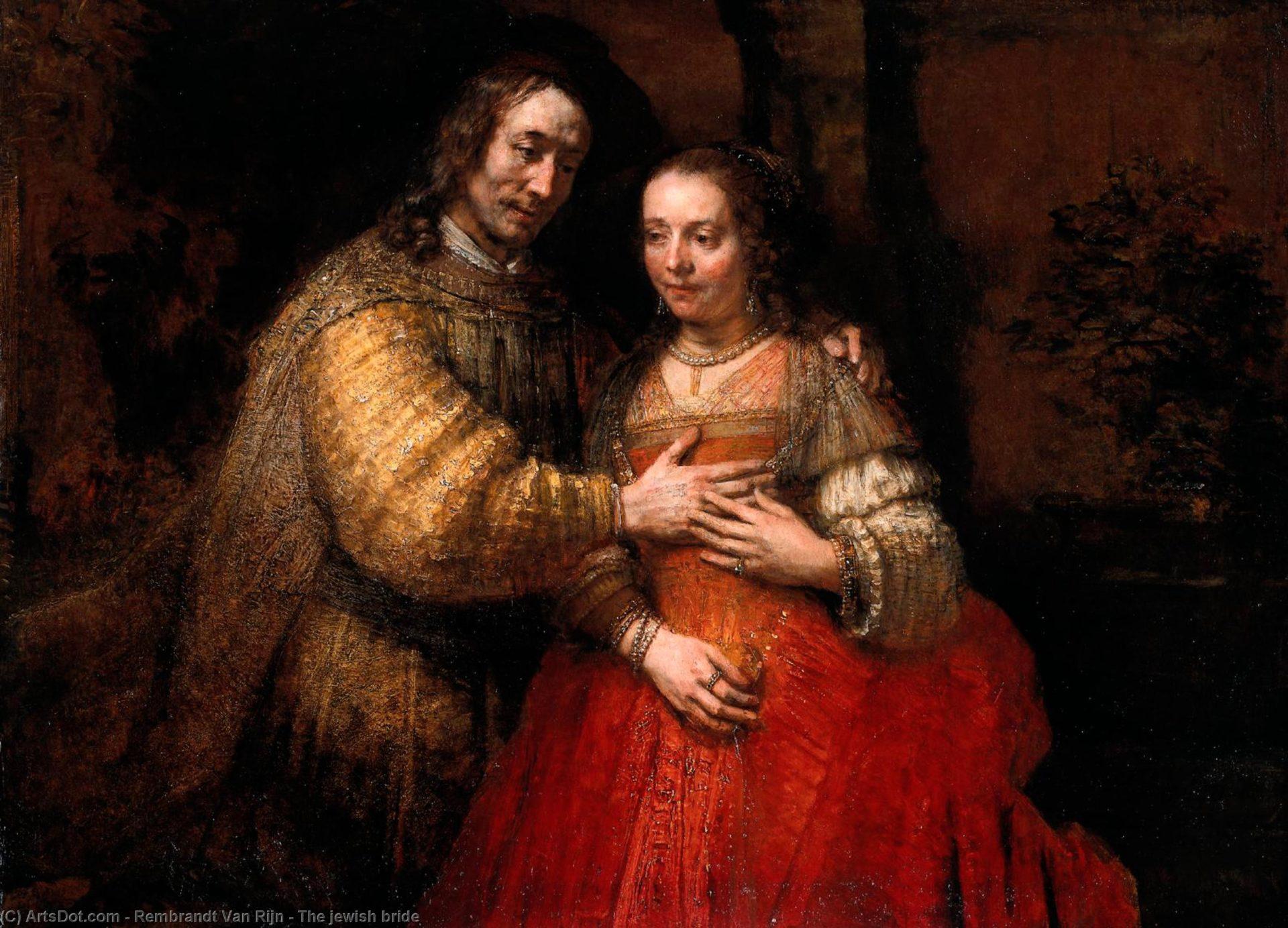 Rembrandt: La sposa ebrea
